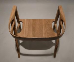 handmade oak chair