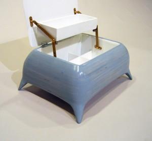 sculpted jewelry box