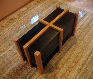 vertical grain fir table