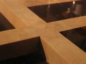 vertical grain fir table
