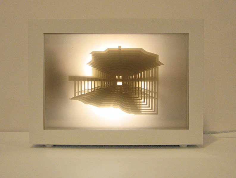 elevation drawing lamp