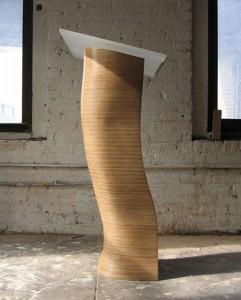 plywood podium