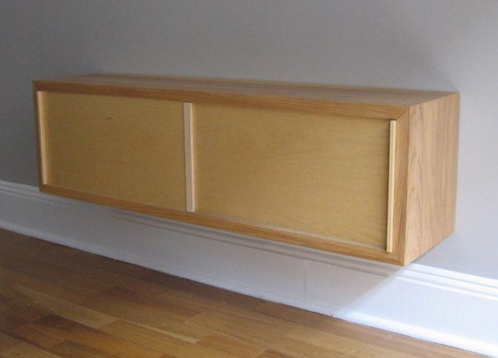 backlit cabinet
