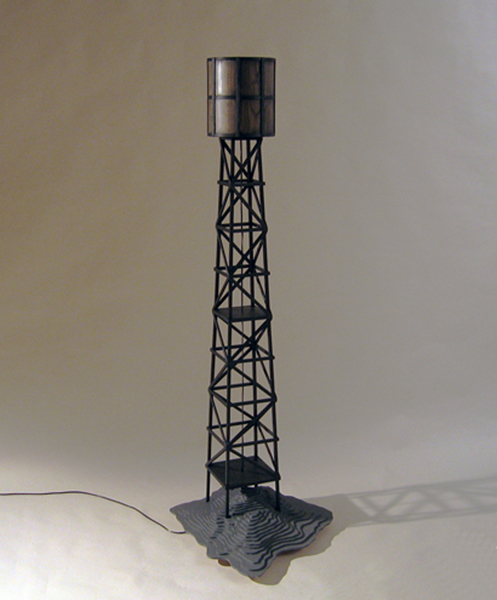 water tower lamp